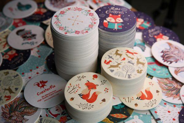 Pulp Board Coasters