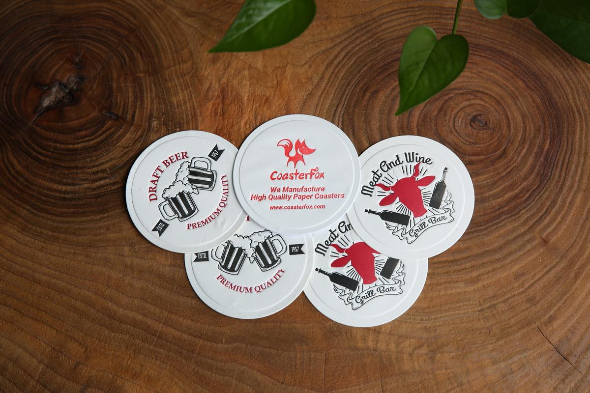 Tissue Paper Coasters